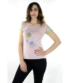 Maglia Manica Ricamata 301 Maglieria e t-shirt donna PJ8/303
