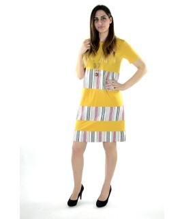 Vestito Strisce 6750 Vestiti donna KC6750