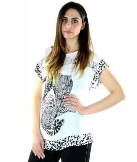 Maglia Leopardo 8423 Maglieria e t-shirt donna CF8423