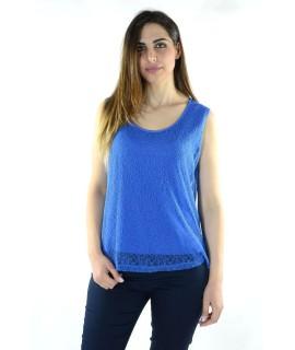 Canotta Macramè 8289 Maglieria e t-shirt donna LY8289