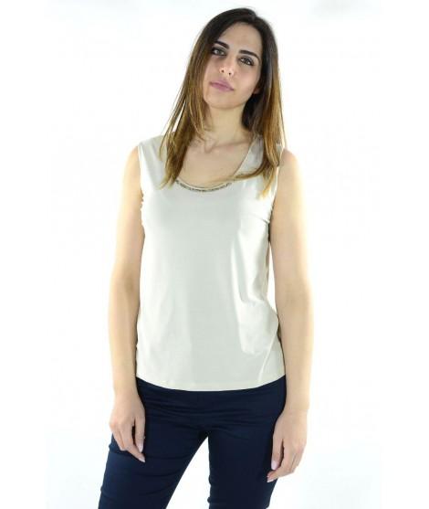 Canotta Strass 8333 Maglieria e t-shirt donna LY8333