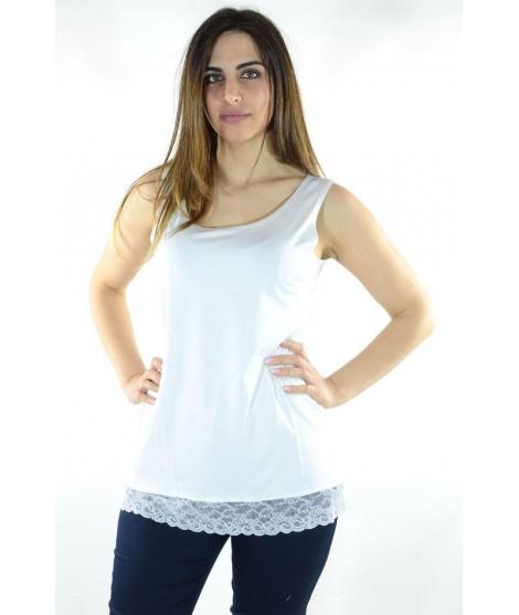 Canotta Macramè 6418 Maglieria e t-shirt donna CF6418
