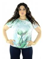 Maglia Fantasia MAXI 5355 Maglieria e t-shirt donna COH5355
