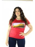 Maglia con Stampa 7593 Maglieria e t-shirt donna GMV7593